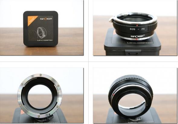Canon EOS-Fuji Xマウントアダプターレビュー