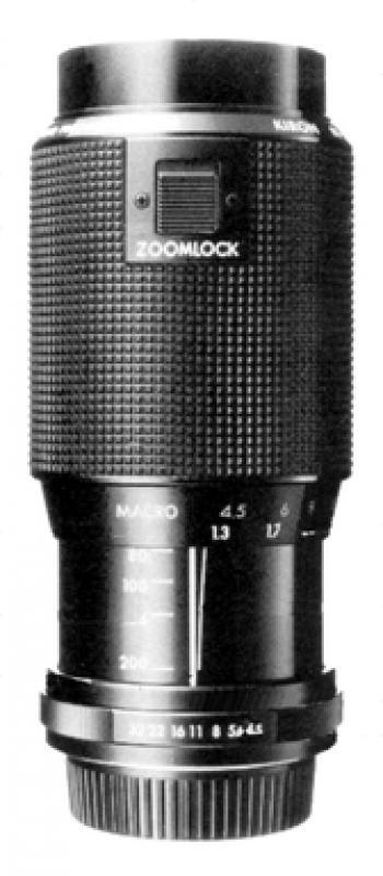 Konica AR Mount Lens List