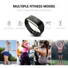 S2 Smart Wristband Sports Fitness Bracelet Tracker Heart Rate Monitor
