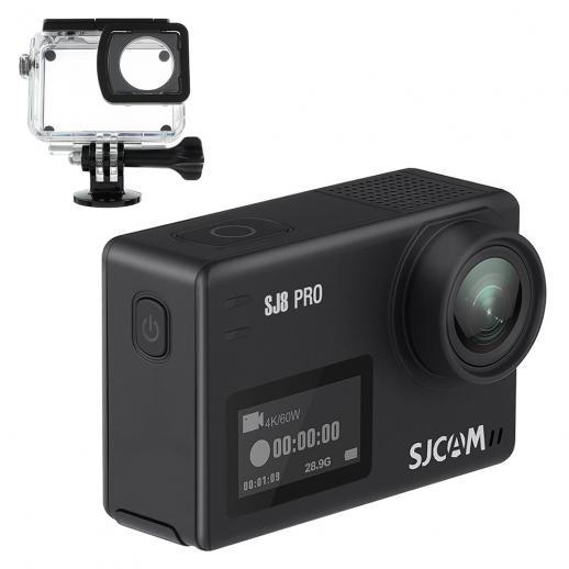 SJCAM SJ8 Pro 4K WiFi Action Camera (Black)