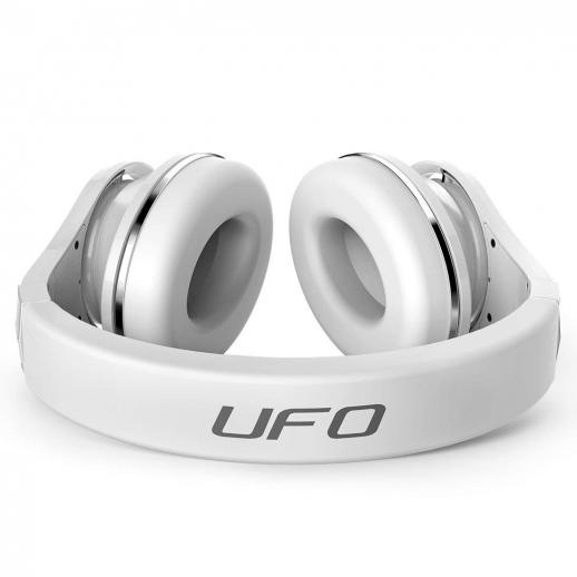 Bluedio U (UFO) Bluetooth Headphones Over-Ear Revolution/3D Sound Effect/Hi-Fi - White