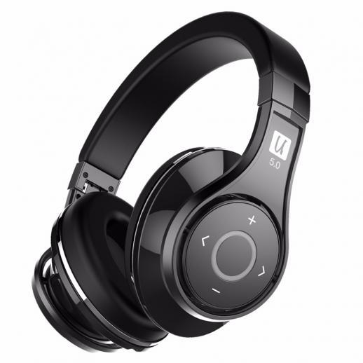 Bluedio U2 (UFO) Active Bluetooth Headphones - Black