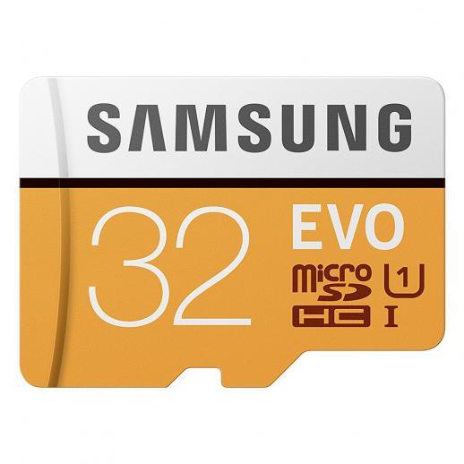 Samsung 32GB MicroSD EVO Memory Card 95MB/s U1