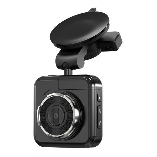 Câmera de traço com cartão de 32GB, Gravador de câmera no painel Beschoi Gravador de vídeo de condução HD 1080p, lente grande angular de 170?, Monitor de estacionamento, Visão noturna, WDR, G-Sensor e gravação de loop, Detecção de movimento