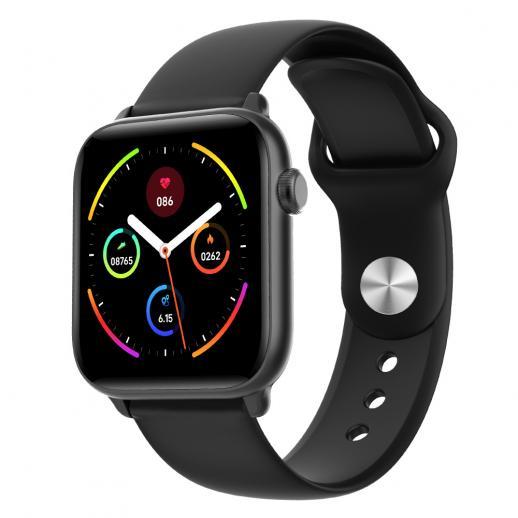 KW37 Pro Relógio Inteligente com Monitor Termômetro, Smartwatches Rastreador de Fitness com Monitor de Freqüência Cardíaca IP68 Smartwatch Impermeável Compatível com iOS e Android Phone