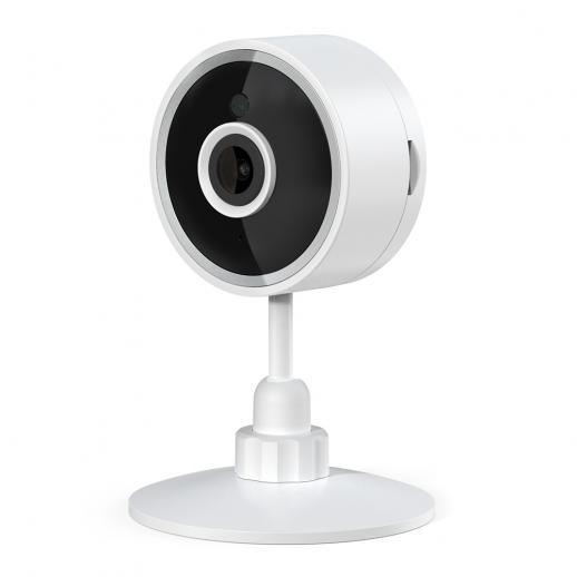 Câmera de segurança doméstica X2, câmera interna 1080P 80 graus WiFi, detecção de movimento, armazenamento em nuvem e cartão SD funciona com Alexa
