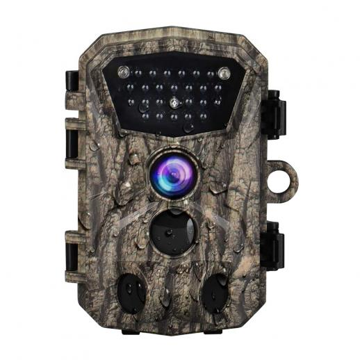 "H883 Mini Trail Camera 1080P HD Game Camera IP66 Waterproof Wildlife Hunting Cam with 12months long standby and Night Vision 2.4"" LCD IR LEDs"