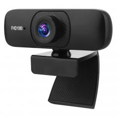 C60 2M Pixels Webcam HD Webcam with Microphone Work with Streaming Computer Camera for Online Classes Video Conference Calling Gaming