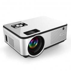 "Wifi 2800 Lumens 120"" 1080p Full HD Screen Projector 50000h Work With TV Sticks Smartphones Tablets HDMI USB VGA AV, EU Standard"