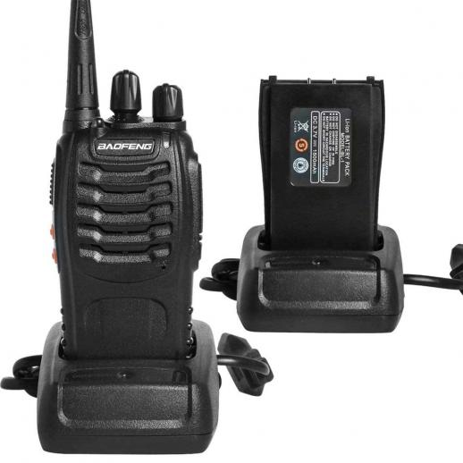BF-888S dual-purpose walkie-talkie wireless high power (USB connector)
