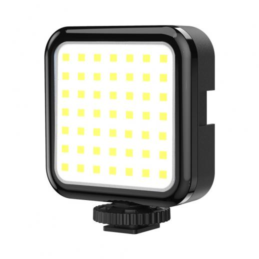 6500k Adjustable LED Video Light with Three-Stage Brightness Suction Cup Portable Pocket Light for Remote Work Meeting Broadcasting Video Makeup