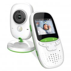 Video Baby Monitor with Wireless Remote Camera 24H Battery Life UK Plug
