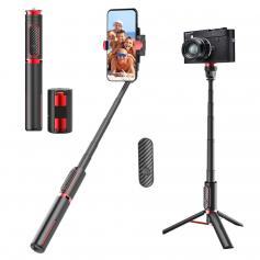 Portable 3-Axis Mobile Phone Stabilizer for iPhone Android Foldable
