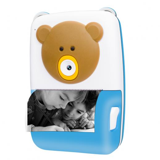 """2.4"""" 1080P HD 12mp Children Instant Camera with Printing Paper"""