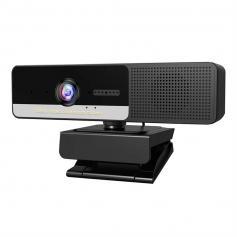 H200 Webcam with Microphone & Speaker 1080p 3 in 1 HD Streaming Business Webcam Meeting USB Webcam for YouTube Skype Facetime PC Mac Laptop Desktop