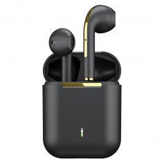 TWS Bluetooth Earbuds Wireless Earphones In-Ear Headset Black for Mobile