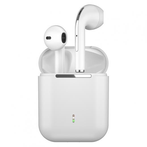 TWS Bluetooth Earbuds Wireless Earphones In-Ear Headset White for Mobile