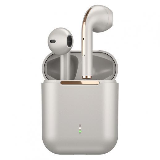 TWS Bluetooth Earbuds Wireless Earphones In-Ear Headset Gold for Mobile