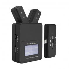 W108 Plug & Play 2.4 GHz Lavalier Wireless Microphone For iPhone & iPad