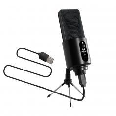 W111 192Khz/24Bit USB Condenser Microphone With Tripod Stand