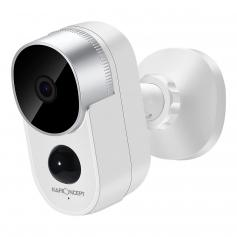 Outdoor Security Camera 1080P HD Motion Detection Wireless Surveillance Camera with Rechargeable Battery 2-Way Audio
