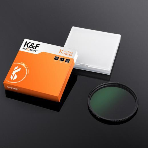 K/&F Concept 55mm MC UV Protection Filter Slim Frame with Multi-Resistant Coating for Camera Lens