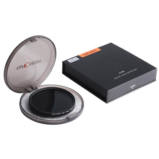 58mm ND2-ND32 Variable Neutral Density ND Filter Nano Coated