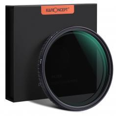 Filtro ND2-ND32 Nano-X Variável (1 a 5 stops), diâmetro 67mm