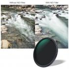 72mm ND2-ND32 Variable Neutral Density ND Filter Nano Coated