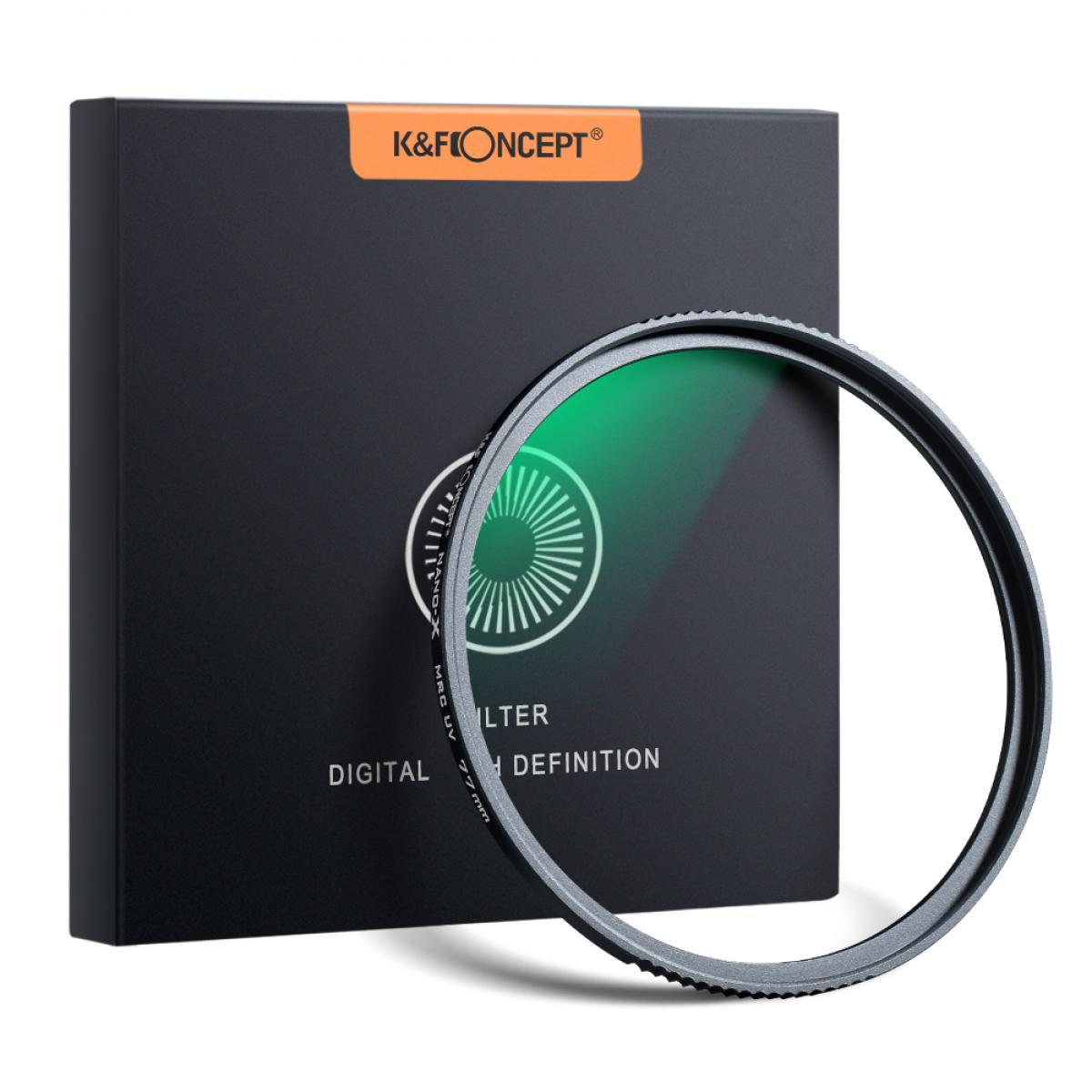 Kleartec SLIM Multi-coated UV Digital Filter Brass 72mm