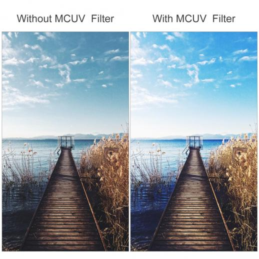 Microfiber Cleaning Cloth 77mm High Resolution Clear Digital UV Filter with Multi-Resistant Coating for Pentax K-r