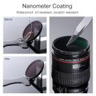 77mm ND8-ND128 Filtro ND Variável Densidade Neutra Nano-X