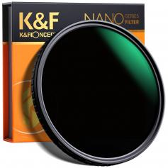 K&F XV39 82mm Variable ND8-ND128 Filter Nano Coated