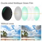 72mm Variable ND2-ND32 Neutral Density and Circular Polarizing Filter Coated