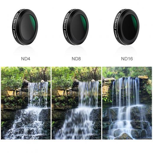Filter Kit for DJI DJI Mavic 2 Zoom Drone Camera (ND4 ND8 ND16 ND4/CPL ND8/CPL ND16/CPL)