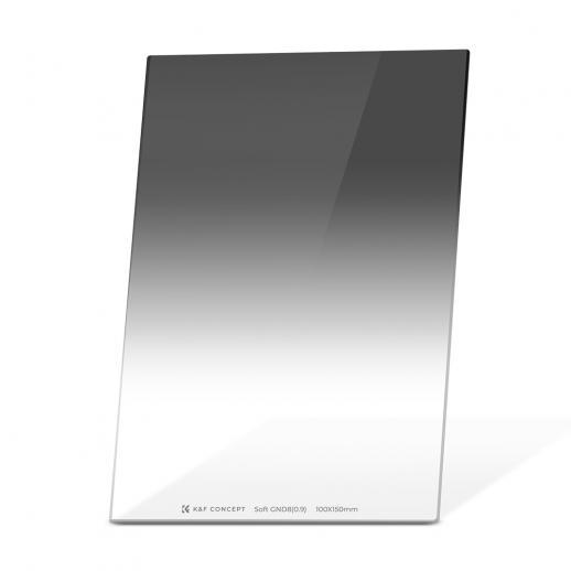 Filtro de densidade neutra graduado K&F SJ51 GND8 100 * 150mm Soft 3 f-stop