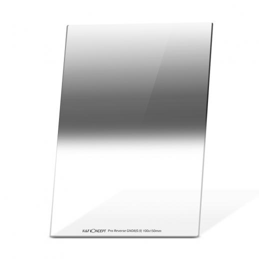 K&F SJ52 GND8 100*150mm Reverse 3 f-stop Graduated Neutral Density Filter