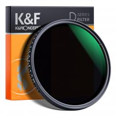 K&F MV35 77mm Variable Waterproof ND8-ND2000 Filter with Multi-Resistant Coating
