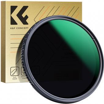 K/&F Concept 6pcs 49mm Slim UV Slim CPL Slim FLD ND2 ND4 ND8 Lens Filter Kit UV Protector Circular Polarizing Filter Neutral Density Filter for Sony NEX5 NEX7 A3000 6 Slot Filter P Petal Lens Hood Microfiber Lens Cleaning Cloth Center Pinch Lens Cap