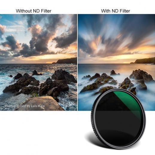 49mm Neutral Density Multicoated Glass Filter ND8 for Pentax K-30