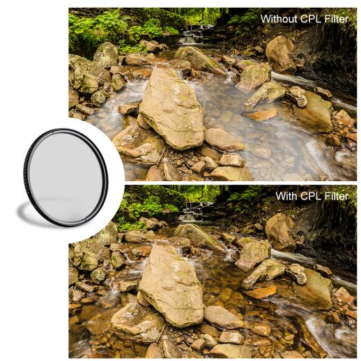 CPL for Pentax K-5 67mm Circular Polarizer Multicoated Glass Filter Microfiber Cleaning Cloth