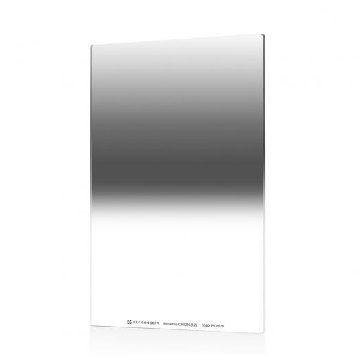 K&F SJ526 GND16 100 * 150 * 2,0 mm Reverse 4 f-stop Filtro de densidade neutra graduada