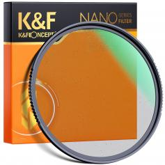 58mm Black Mist Filter 1/8 Special Effects Filter Cinebloom Black Diffusion Effect Filter for Camera Lens Nano-X Series