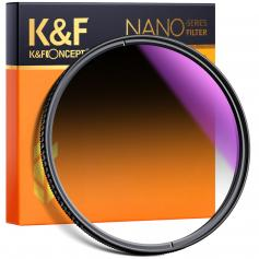 52mm Soft Graduated ND16 Lens Filter Ultra-Clear Optical Glass Multi-Coated