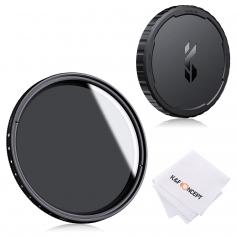 82mm Variable ND2-ND400 Filter+ Cleaning Cloth+ Filter Cap