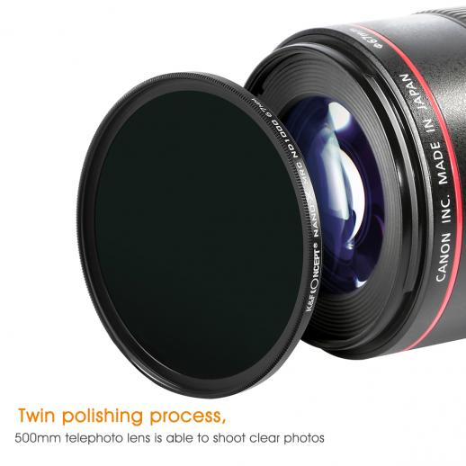 82mm 10 Stop ND1000 Filter Nano-X