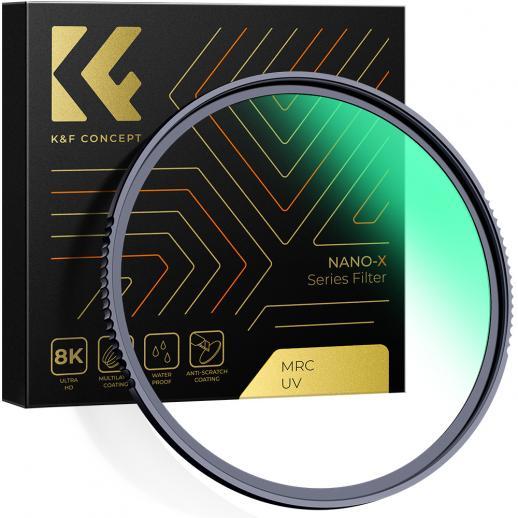 K&F XU05 82mm UV Filter Multi Nanotech For DSLR