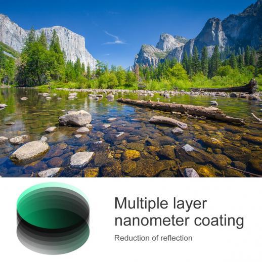 77mm Filtro Polarizador Circular Nano-X