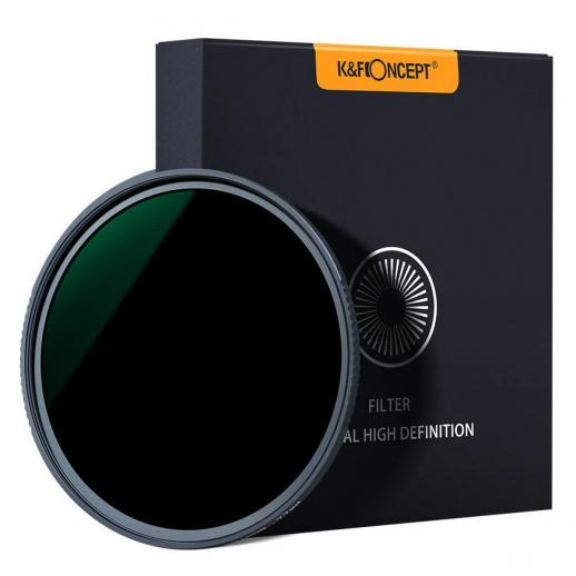 K&F XN25 58mm ND1000 Filter 10 Stop ND Lens Filter