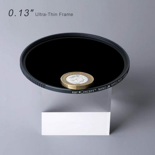 67mm ND1000 Filter 10 Stop Multi-Resistant Nano Coating